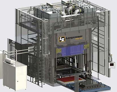 Presse HP-RTM 2500 t