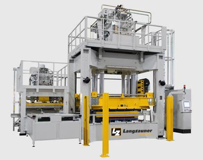 thermoplastic press line