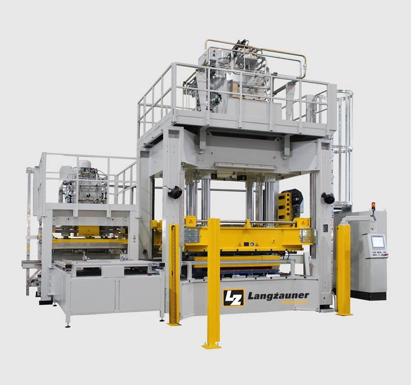 Thermoplastic press line