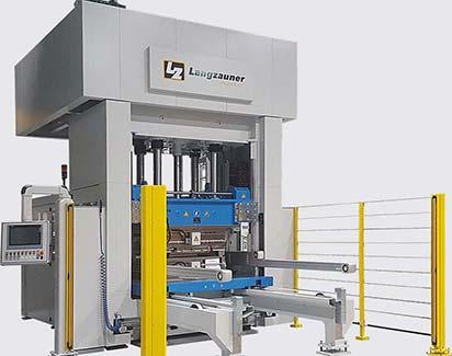 Thermoplast-Hydraulikpresse