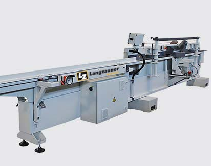 through-feed sanding machine