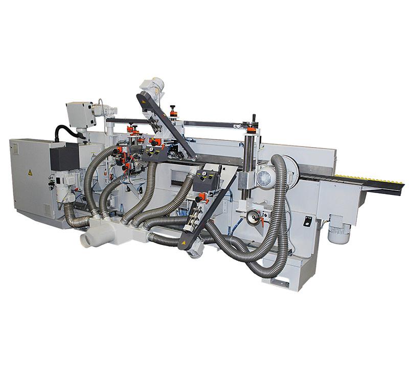 Profilfräsmaschine Bürstenaggregat