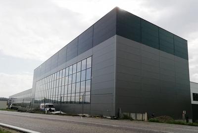 Montagehalle Neubau