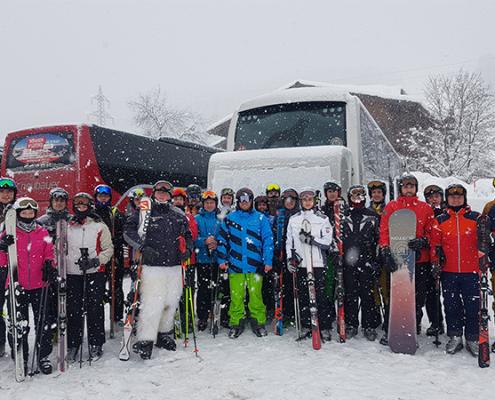 Langzauner Skifahren Flachau 2019