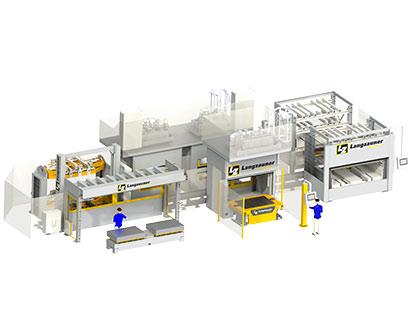 Automatisierungslinie Composite