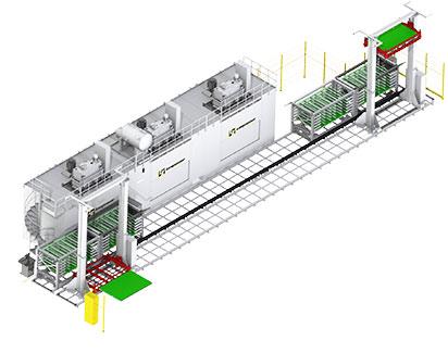 Automatisierungslinie Hydraulik