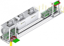 Regalbediengerät Automatisierungslinie